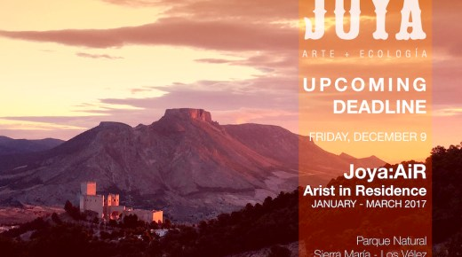 Call for Artists / Joya: arte + ecología International Residency, Spain