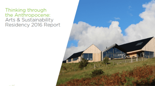 Arts & Sustainability 2016 Residency Report Published