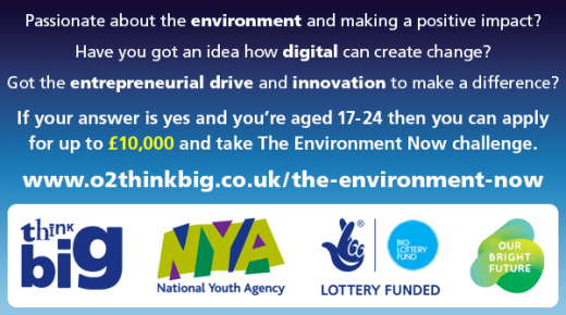 Open Call: £10,000 Environment Now Challenge