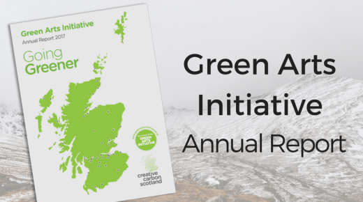 2017 Annual Report launched on #GreenArts Day!