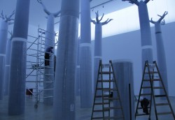 installation of Cathedral by Eileen MacDonagh, 2012