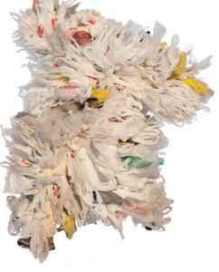 entangled plastic bags