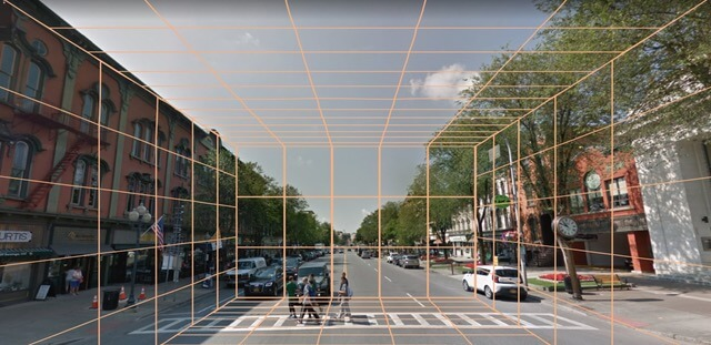 Broadway Streetscape, Saratoga Springs