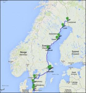 Itinerary 2014