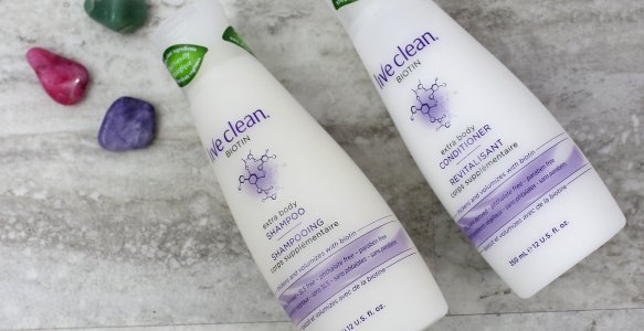 Live Clean Biotin Shampoo + Conditioner | Review
