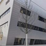 Alu-Fassade von Novelis