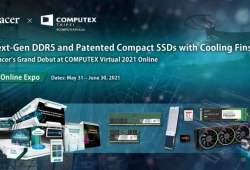 (PR) DDR5 Generasi Berikutnya dan Compact SSD yang Dipatenkan dengan Sirip Pendingin Grand Debut Apacer di COMPUTEX Virtual 2021 Online