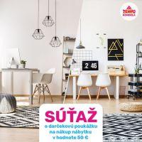 Súťaž o poukážku na nákup nábytku a bytových doplnkov