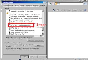 แก้ปัญหา Donwload File บน IE9