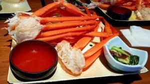 กินปู Daimaru Tokyo