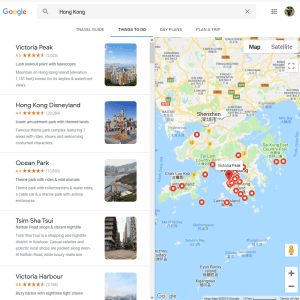 google map hong kong