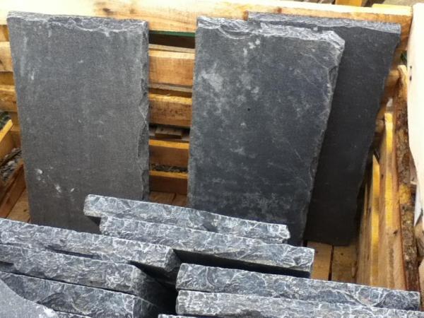 antique black rock face 12x12 12x24 24x24