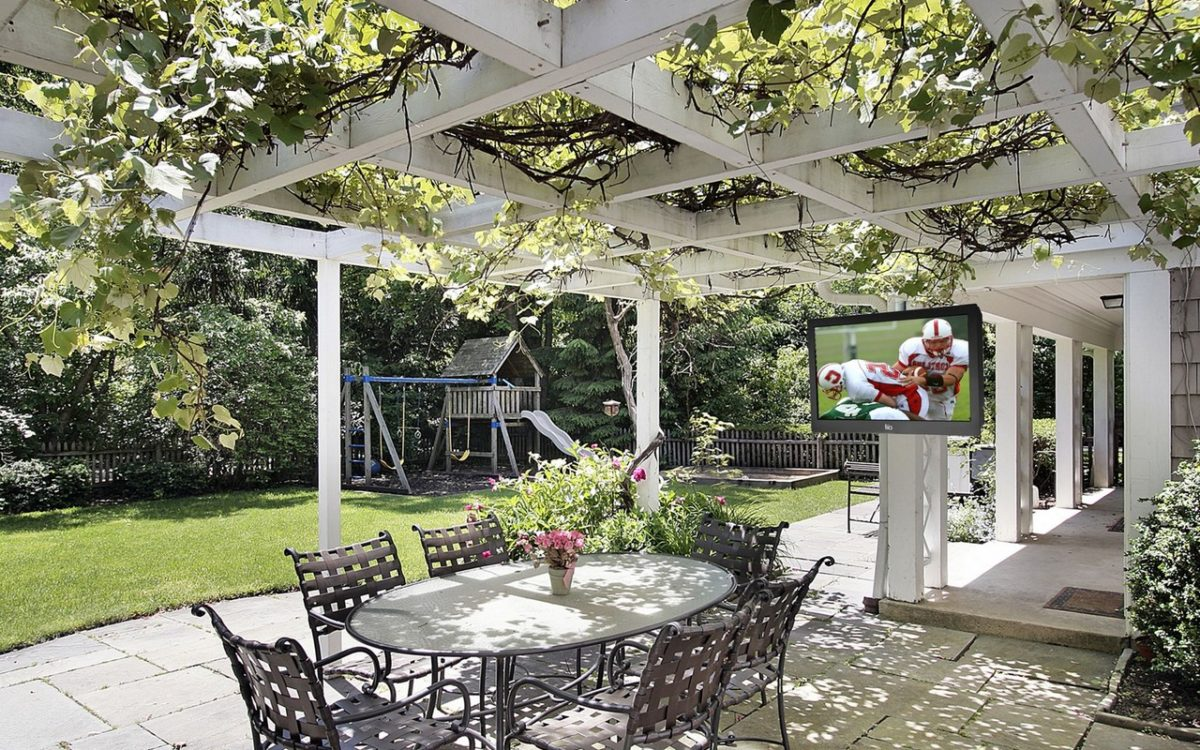 adding cover cools your patio area