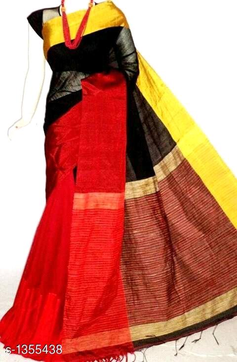 Mahapar Saree Cotton Silk Saree BP available MBSSRE-RDP-262
