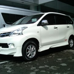 Bodykit Grand New Avanza 2016 G At 84 Modifikasi Stiker Mobil Putih 2018