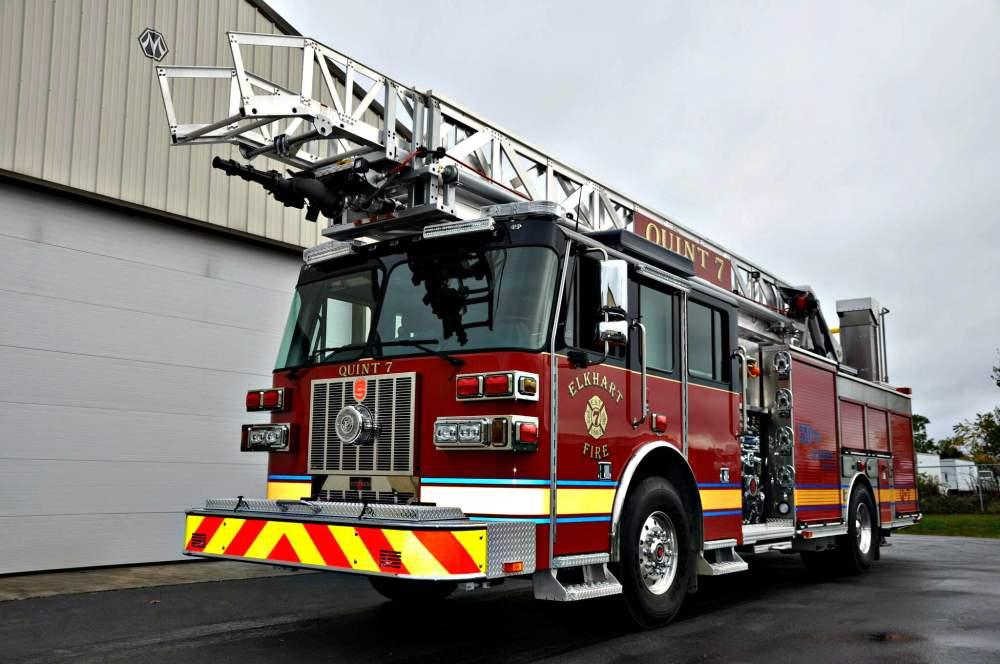 medium resolution of slr 75 aerial ladder elkhart in