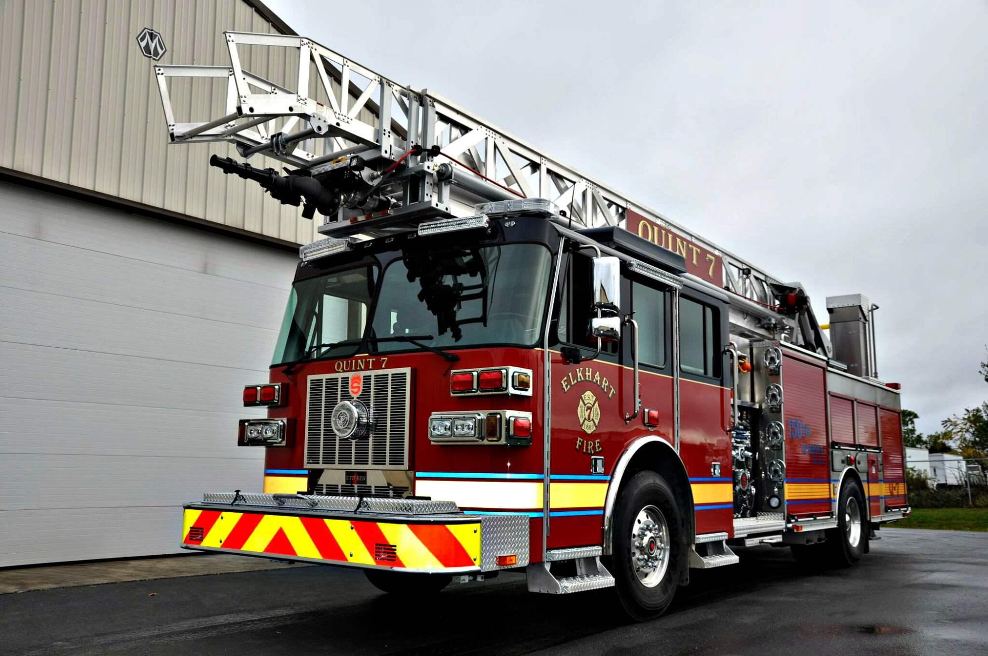 hight resolution of slr 75 aerial ladder elkhart in