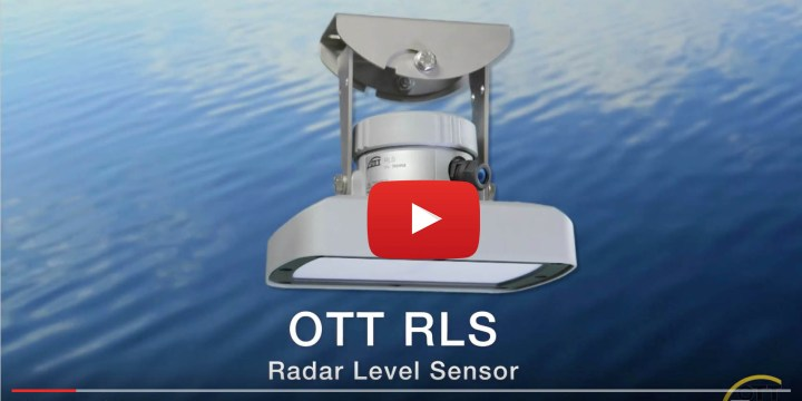 OTT RLS – Radar Level Sensor for Surface Water