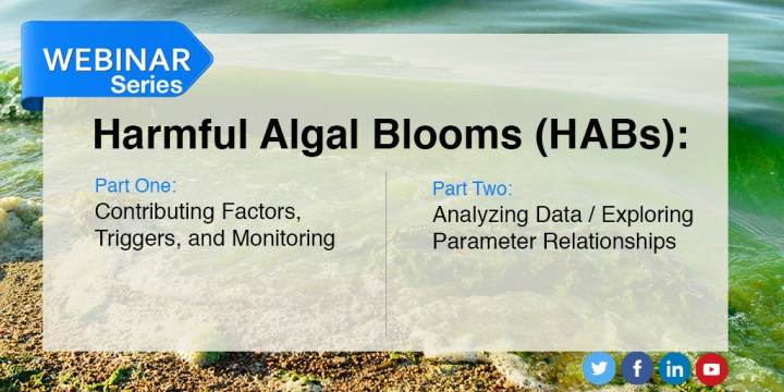 Harmful Algal Blooms (HABs) Monitoring Webinars Now Available On-Demand!