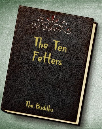 book with 10 fetters on cover