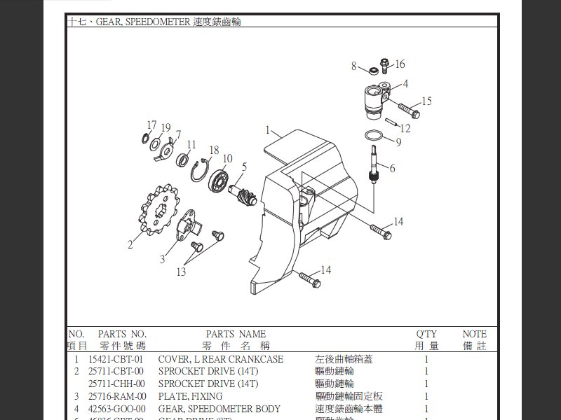 SUTTER® Parts Manual for SMC Captain 300