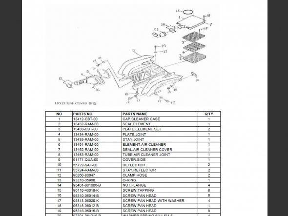 SUTTER® Parts Manual for Barossa 250H SkyWalker