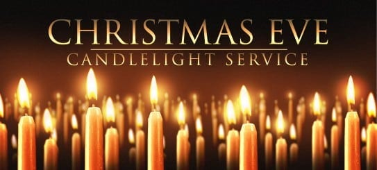 Sutterton Church Candlight Christmas Eve Service 2017