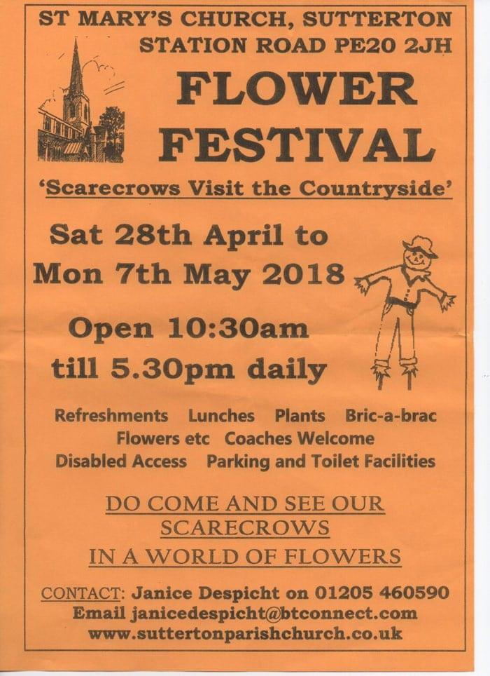 st marys church flower festival