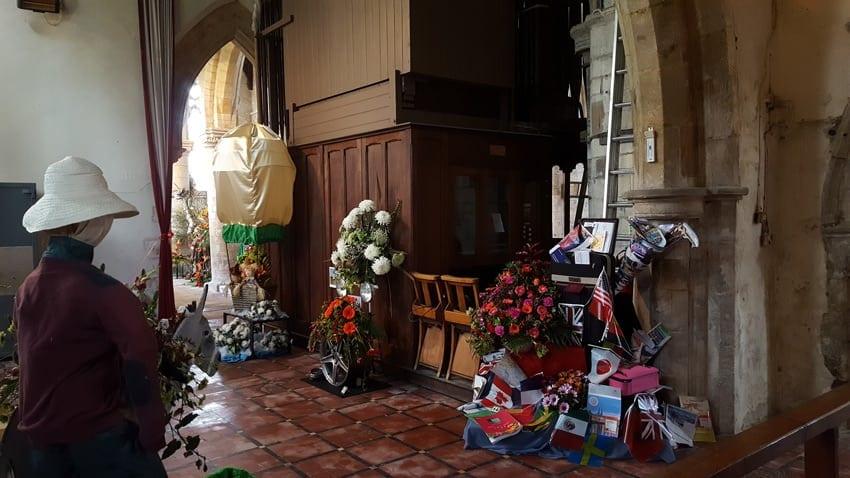 sutterton flower festival preparation