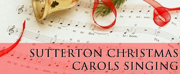 Sutterton St Mary's christmas carol singing