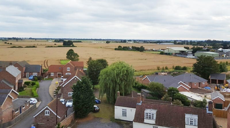 View from Sutterton Church Bells