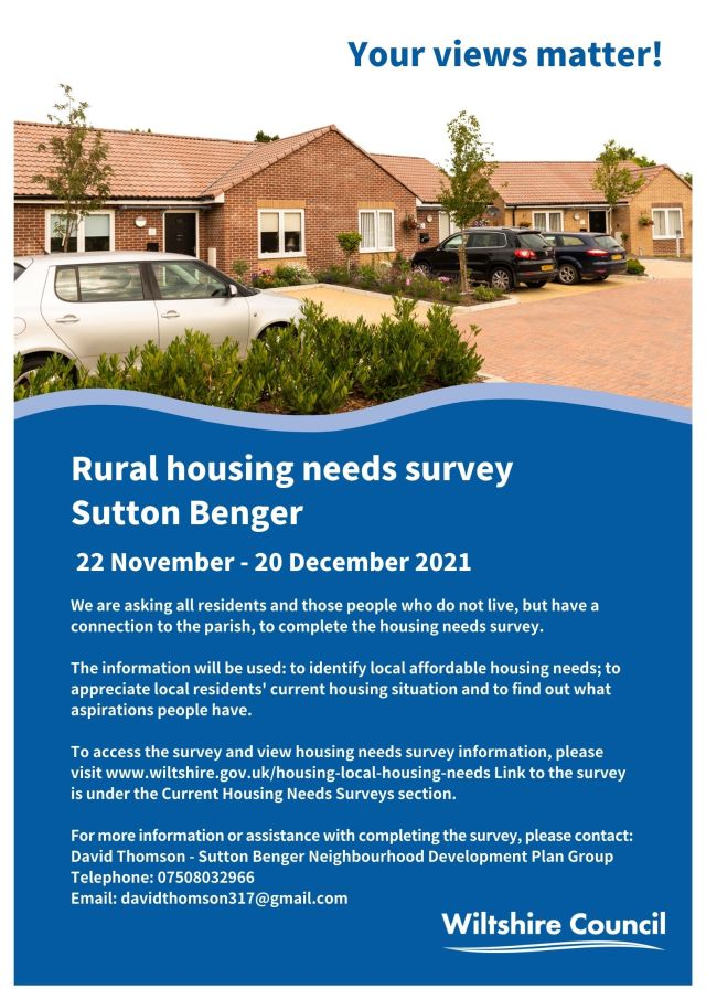 Housing Needs Survey 2021