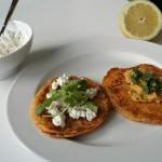 Zoete-aardappelpannekoekjes