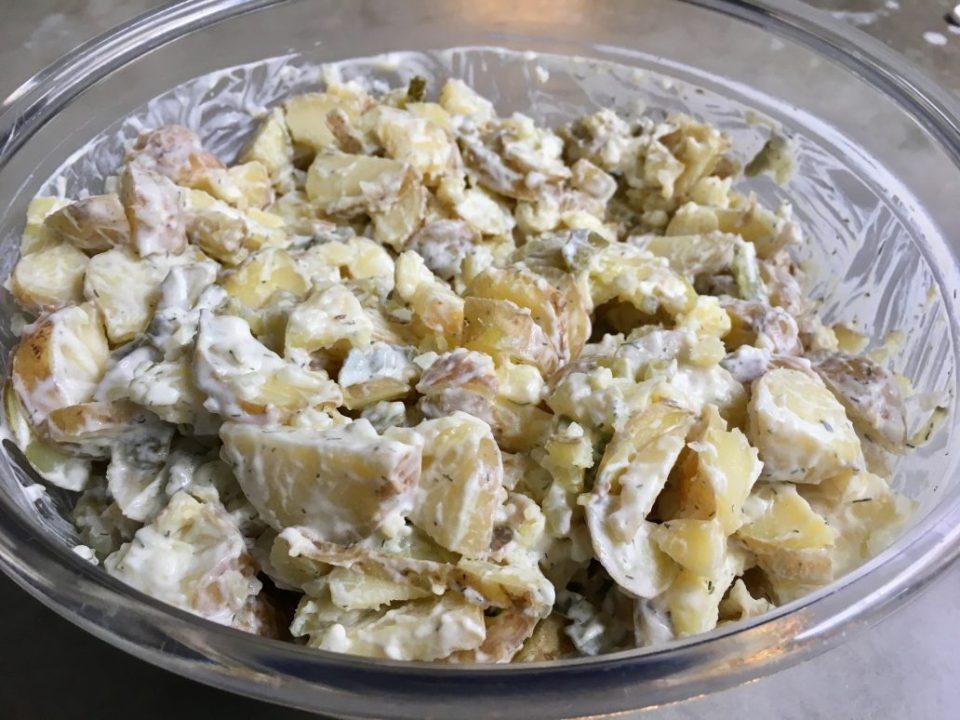 Bijgerecht: Aardappelsalade