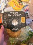 Krokant schnitzel van Vegafit