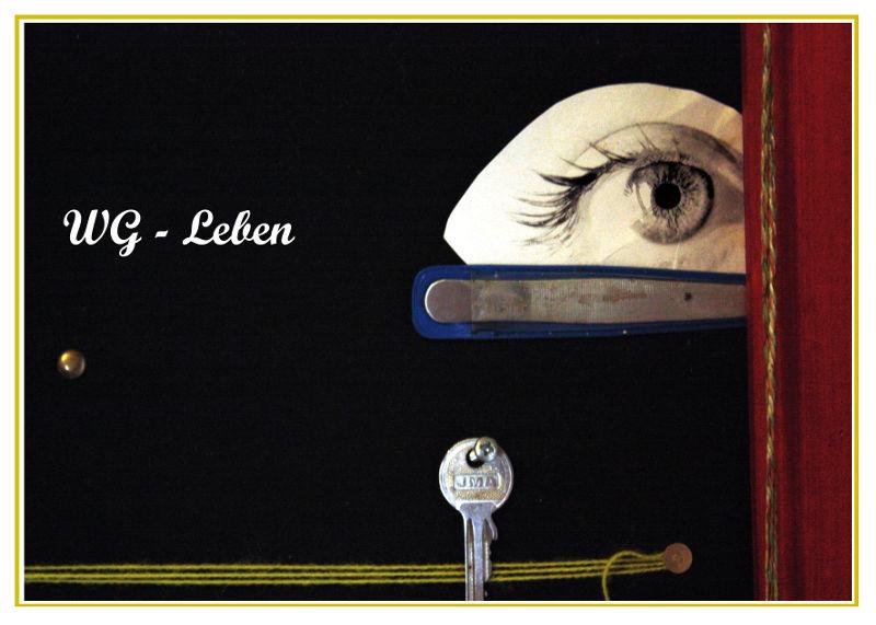 das WG-Auge am schwarzen Brett