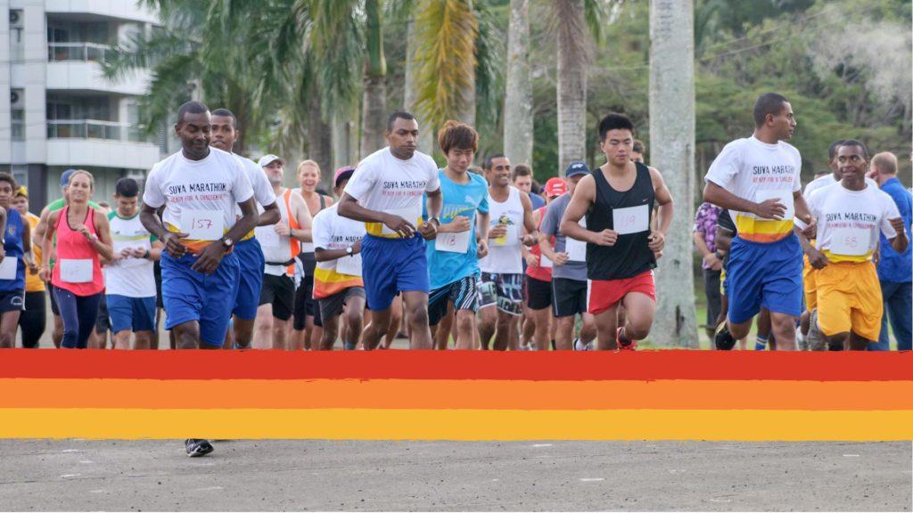 Suva Marathon Runners! (Suva City, Fiji)