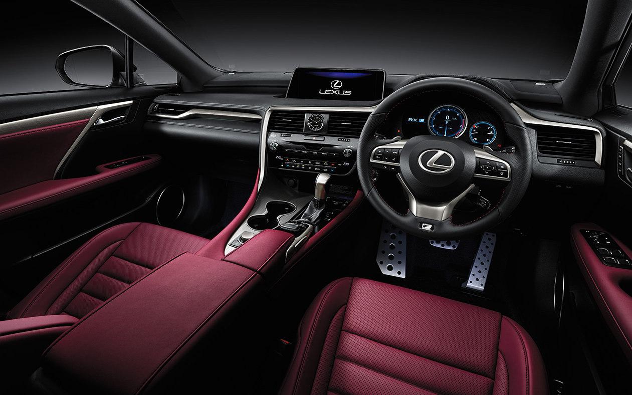 450h Drive Lexus Rx Test