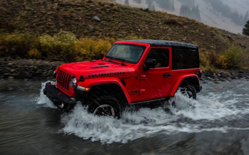 Comparison Jeep Wrangler JK Rubicon 2018 Vs Jeep
