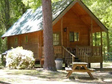 Log Cabin Vacation Rentals  Resort in Mayo Florida