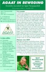 2008-12 #02 nieuwsbrief Agaat in beweging
