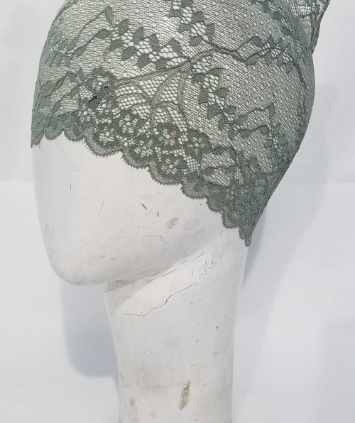 Lace Cap – Forest Green – Side Picture
