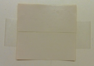 Stickers maken groot tape 2 op plakband erbij plakken