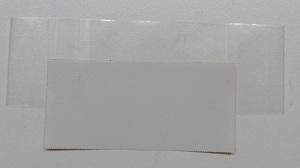 Stickers maken groot tape op plakband plakken
