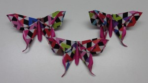 Origami vlinder