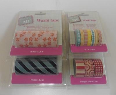 Action shoplog washi tape