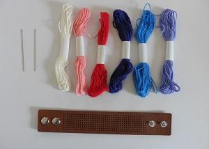 Borduurarmband de materialen