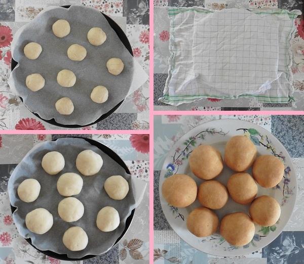 Kaas broodjes een helft gewone broodjes