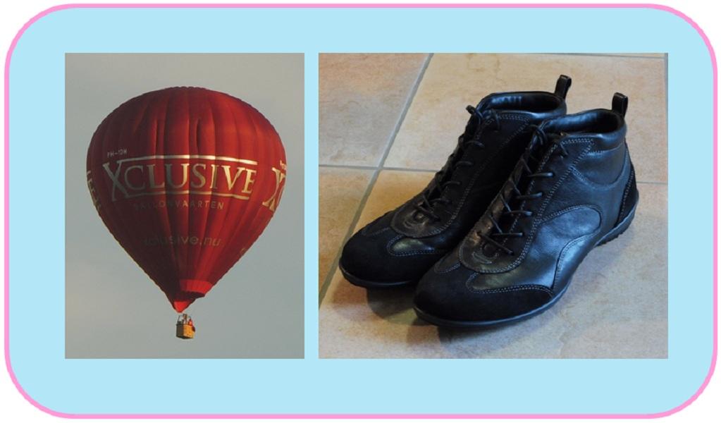 Wat een week: Een luchtballon en nieuwe schoenen