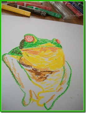 Coloring In the Frog